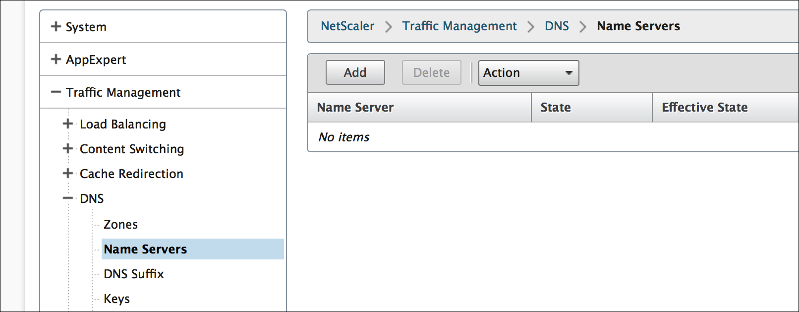How to Enable NetScaler Appliance to Use DNS for Resolving the