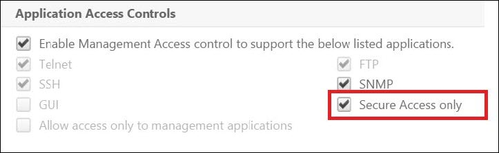 How to Enable Secure Access to NetScaler GUI Using the SNIP