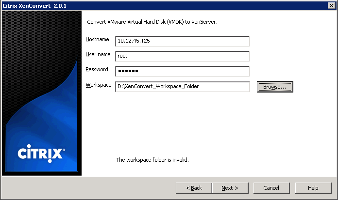 How to Convert VMware Virtual Machines to XenServer Virtual Machines