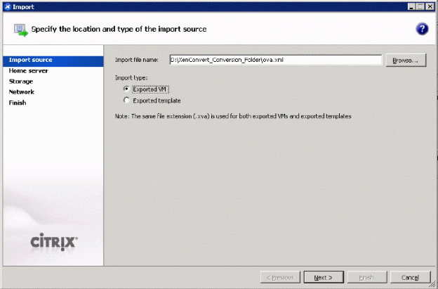 How to Convert VMware Virtual Machines to XenServer Virtual