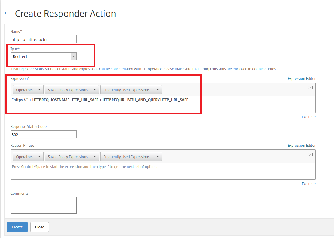How to Use Citrix ADC Responder to Redirect Requests from
