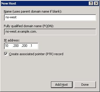 How to Delegate Subdomains in Microsoft DNS or BIND for Global