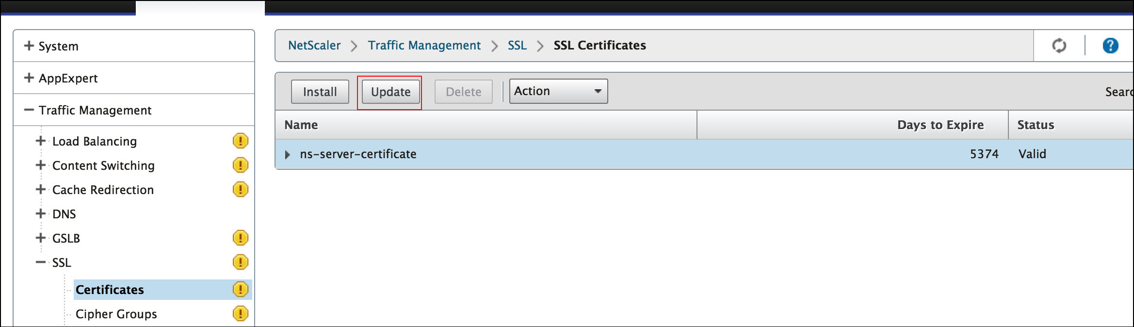 How To Replace The Default Certificate Of A Netscaler Appliance With