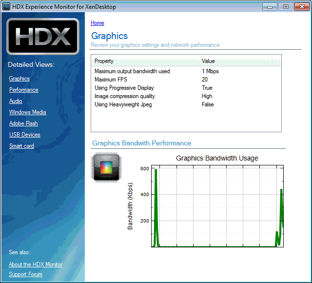 HDX Experience Monitor for XenDesktop