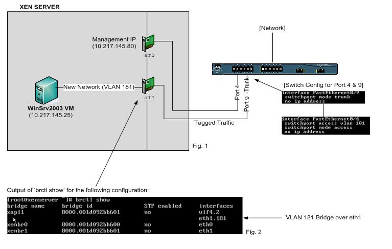 XenServer VLAN Networking