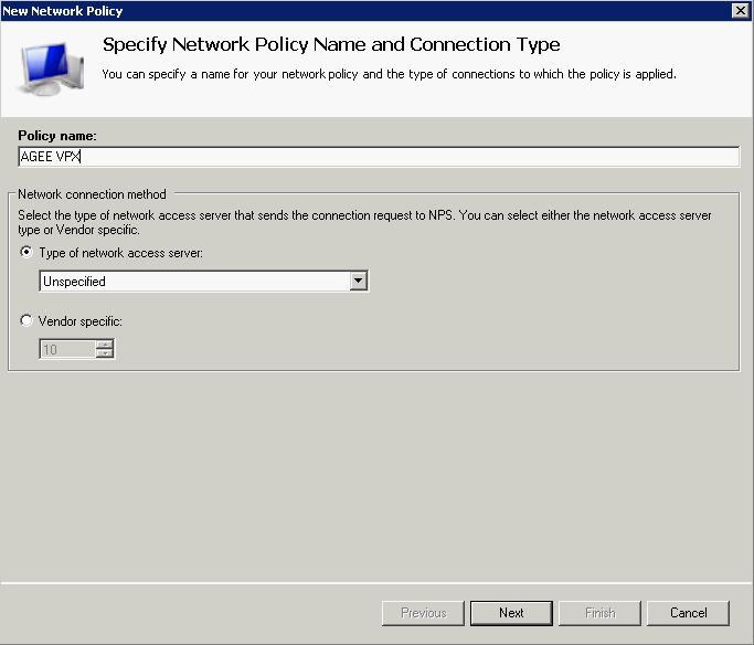 How to Configure NetScaler Gateway with Microsoft Network Policy
