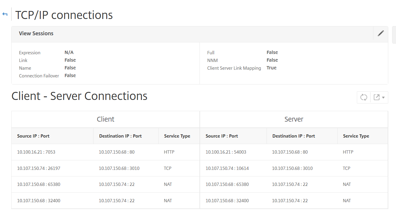 How to Determine the IP Addresses of Active Connections to a