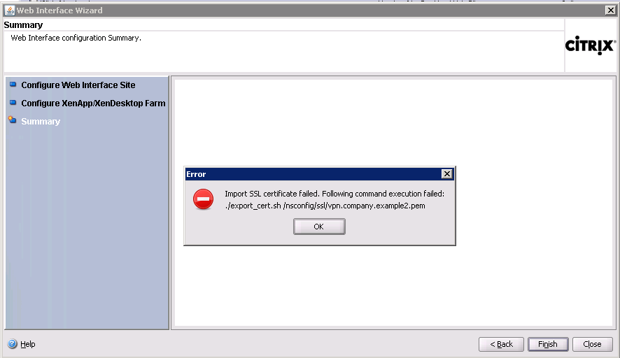 How to Manually Configure Certificate Trust in Web Interface