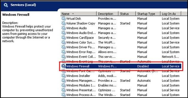 Unable To Communicate With Authentication Manager Service