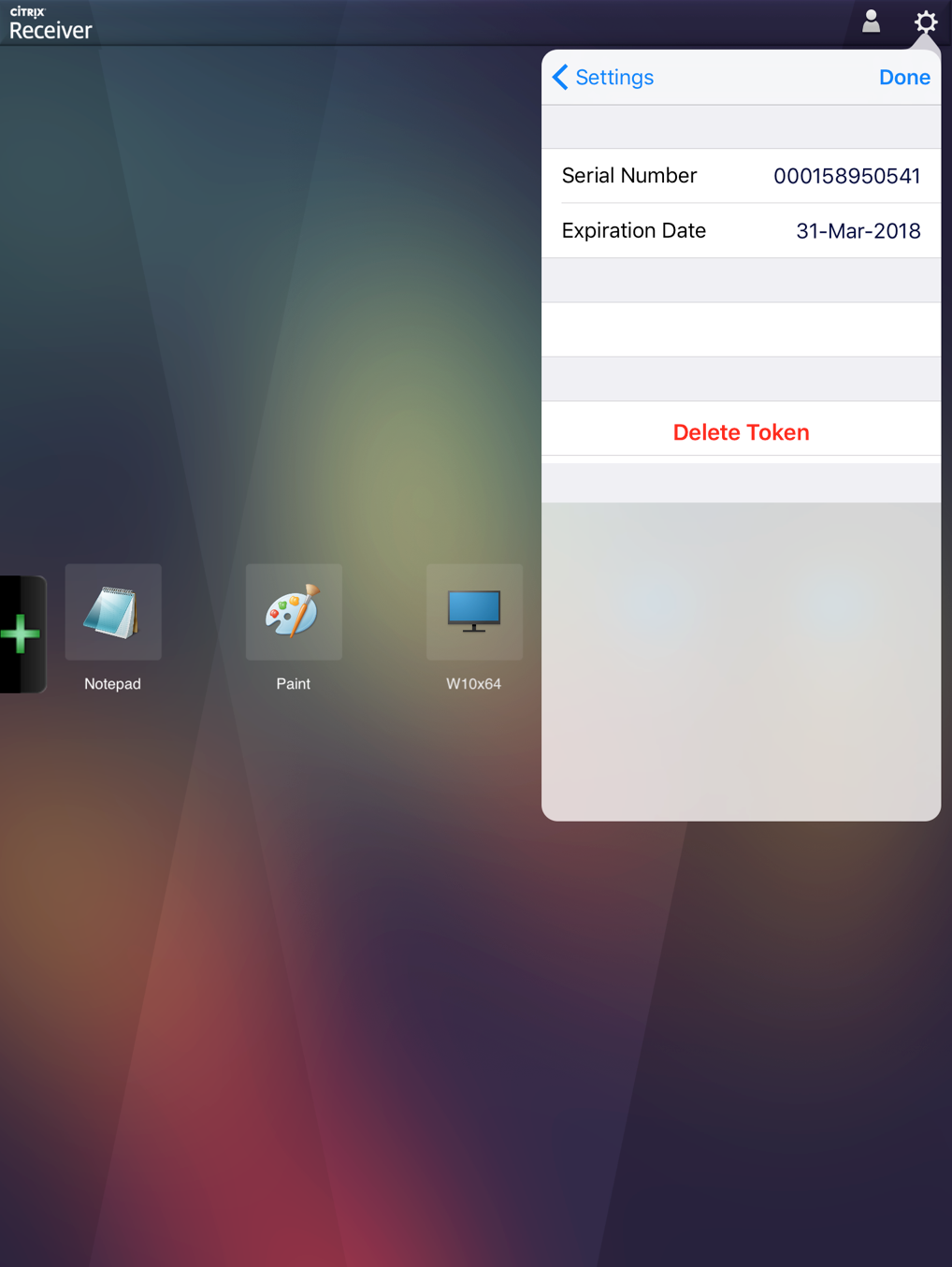 How to Install and Configure RSA Soft Token on iOS Receiver