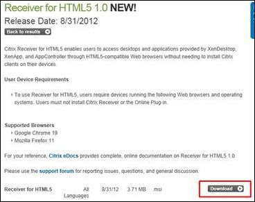 How to Configure Local Access for HTML5x Using Receiver