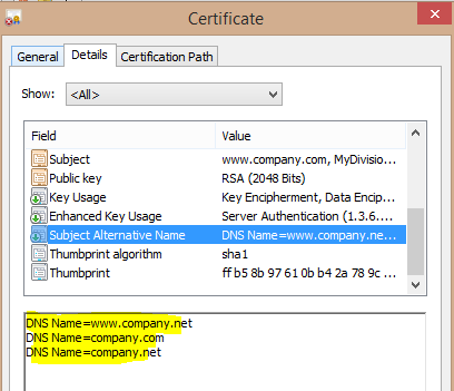 How to Create a Self-Signed SAN Certificate Using OpenSSL on