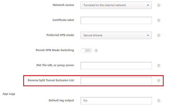 FAQ: Citrix Secure Hub for Mobile Devices and MicroVPN Technology