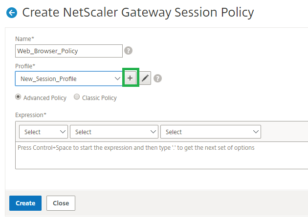 How to Configure NetScaler Gateway Session Policies for StoreFront