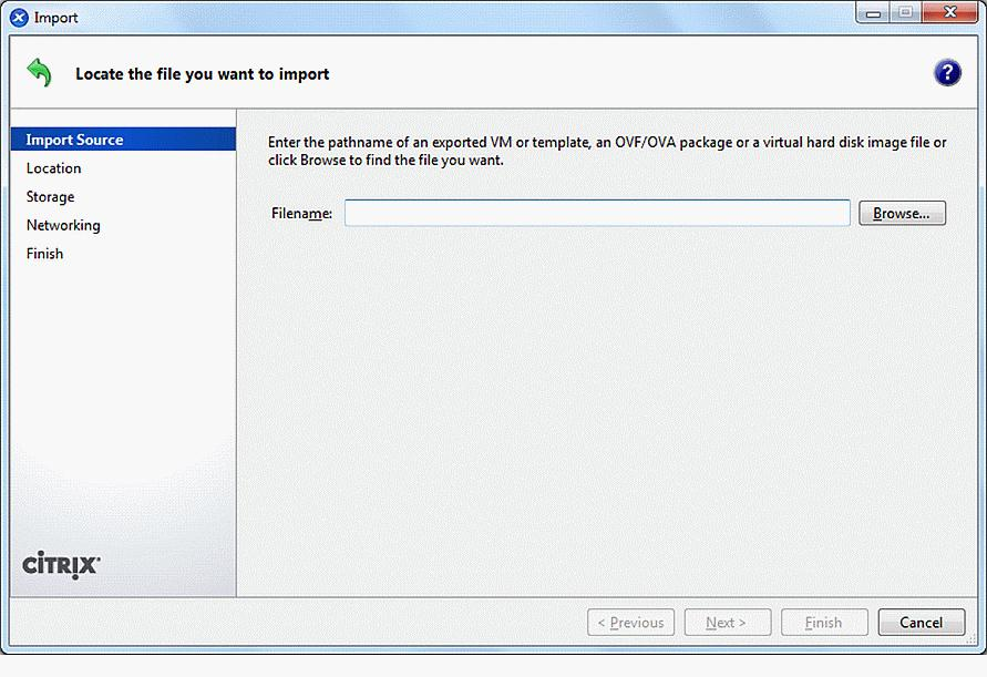 How to Import VMDK Files to XenServer