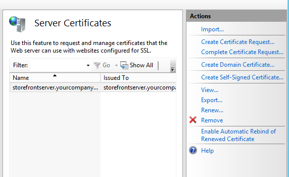 How To Generate And Install An Ssl Certificate On A Storefront
