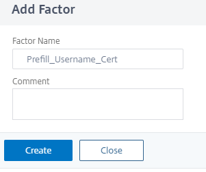 Prefilling username from Certificate on Citrix ADC nFactor