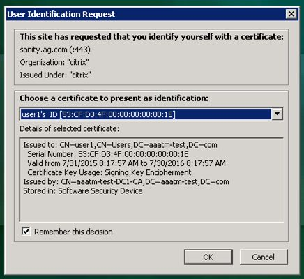 nfactor - Certificate Authentication Followed by Group Extraction