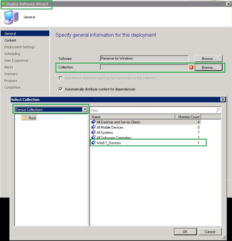 Deploy Citrix Receiver for Windows Using System Center