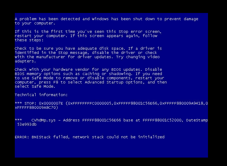 BSOD with Error: \