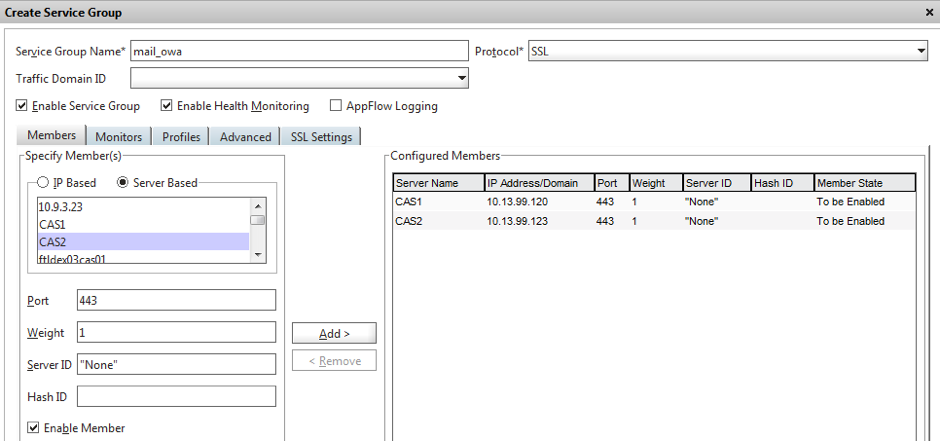 How To Configure NetScaler Load Balancing for Exchange 2013