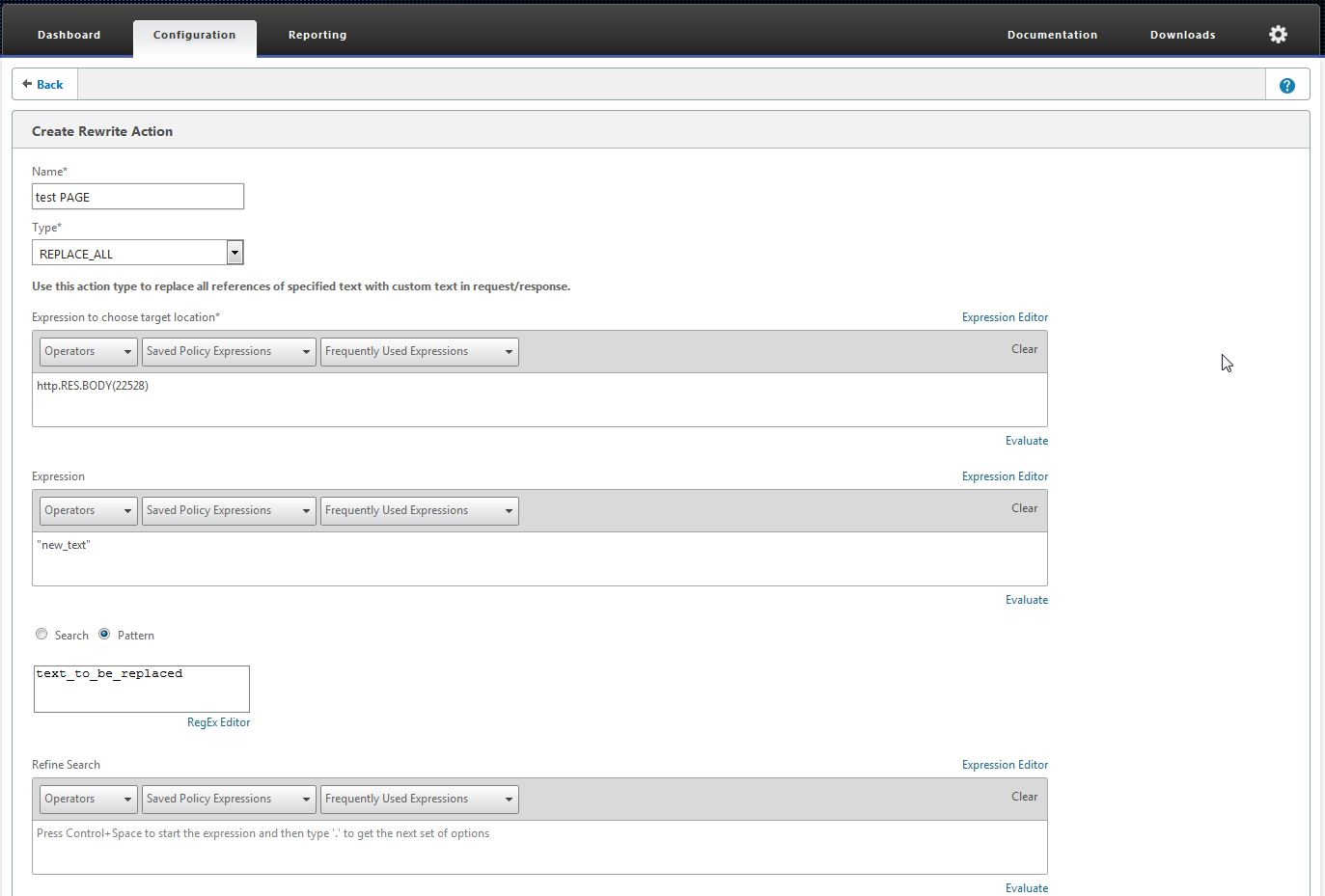 How to Modify Body Content Using NetScaler Rewrite Policies