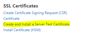 How Do I Set Up a Self-Signed Certificate on NetScaler?