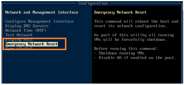 How To Configure a XenServer Management Interface