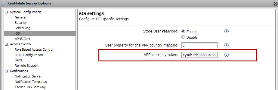 XenMobile - iOS Volume Purchase Program (VPP) Checklist for XM9