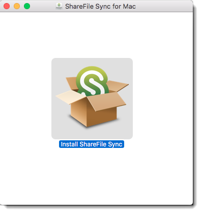 How to install and use ShareFile Sync for Mac