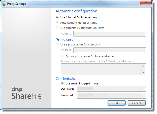 Installation of ShareFile Outlook Plug-in