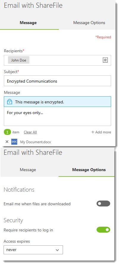How to encrypt an Email