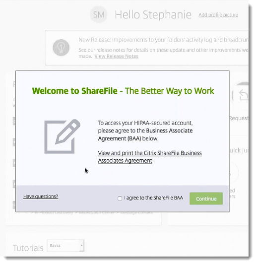 ShareFile Healthcare Cloud