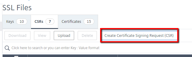 How do I Create a Certificate Signing Request (CSR) on