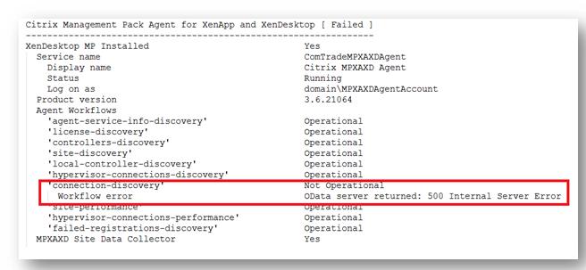 ERROR UNEXPECTED HTTP STATUS CODE 500 SERVER ERROR - Error