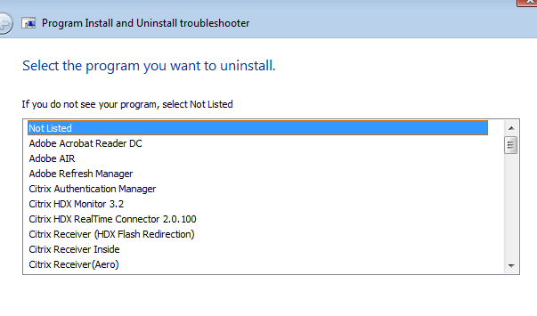 VDA Upgrade from version 7 7 to 7 8 on Windows server 2012 R2 Fails