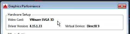 XenDesktop 7 6: NVIDIA GRID Autocad VMWARE - Incorrect video card in use