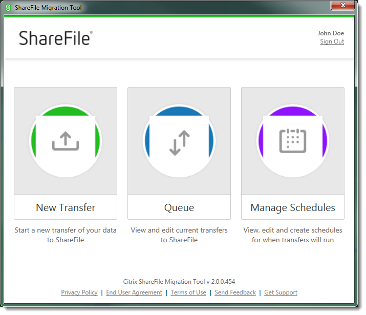 ShareFile Data Migration Tool