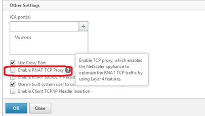 Passive FTP Over SSL Fails Through RNAT Configured on NetScaler