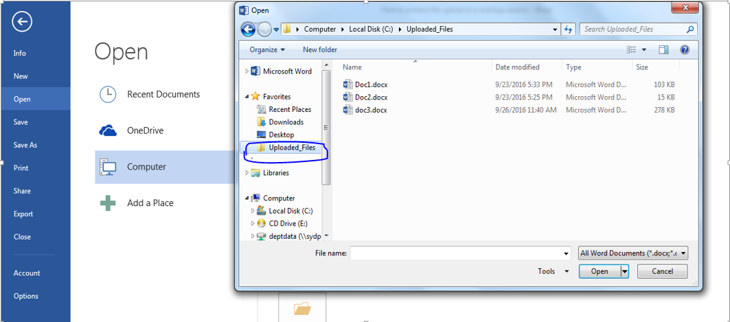 How to Customize File Upload and Download Using Receiver for