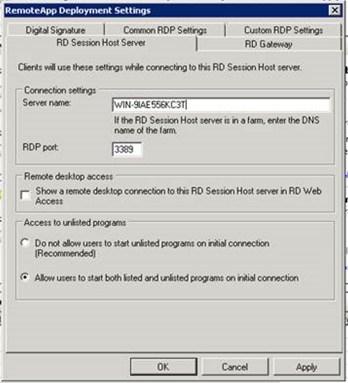 How to Use RDP Initial App in Newer Versions of Windows