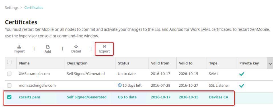 XenMobile 10 MDM SSL Offload Configuration