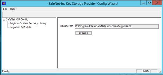 Storing Federated Authentication Service Request Agent Key