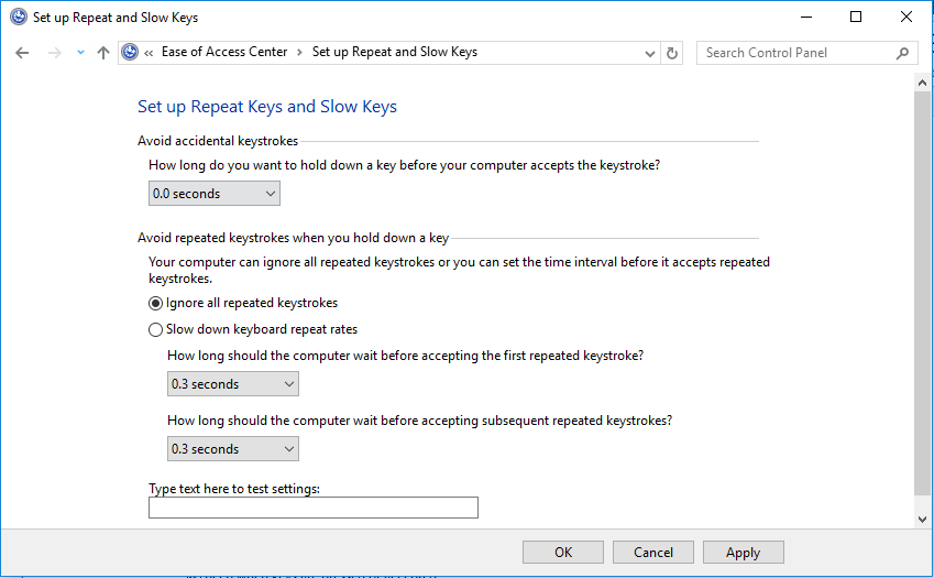 How to Turn off Auto-repeat of Special Keys in Citrix