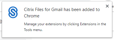 Citrix Files for Gmail User Guide