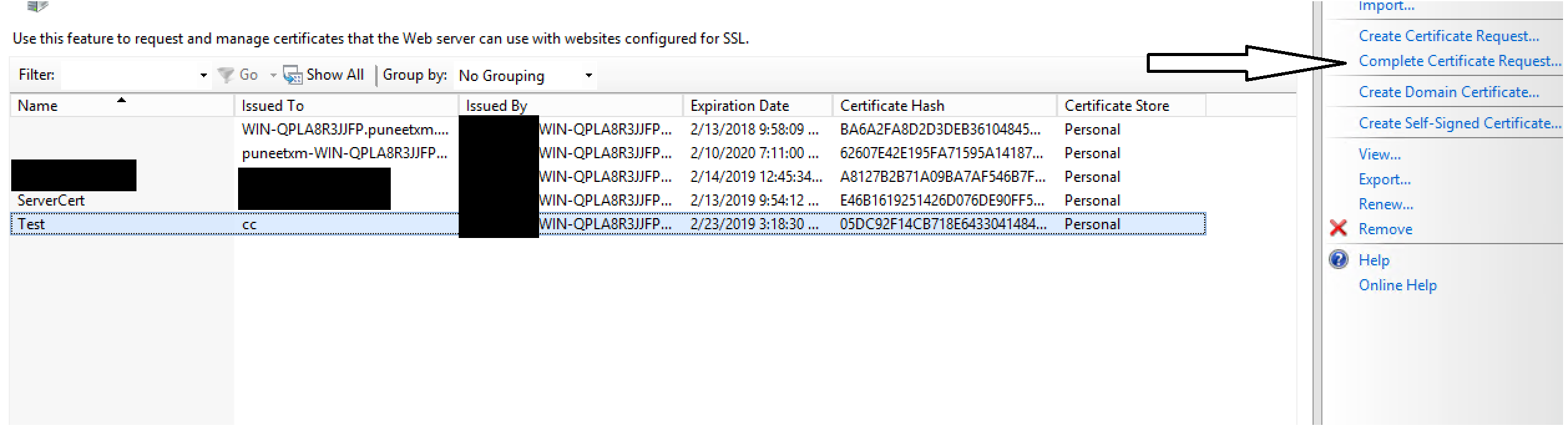 How To Create An Ssl Server Certificate For Xenmobile Server 10x