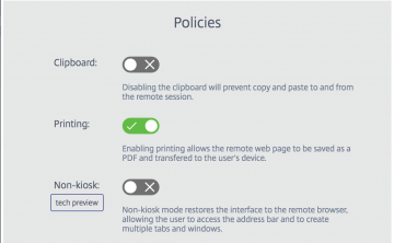 How to Print from Secure Browser Session