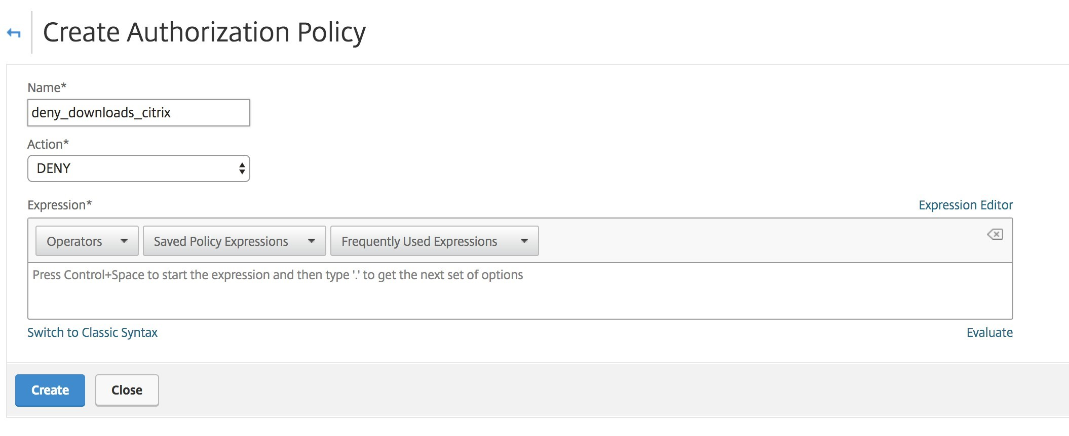 How Do I Perform Authorization Using Advanced Policy Expressions in