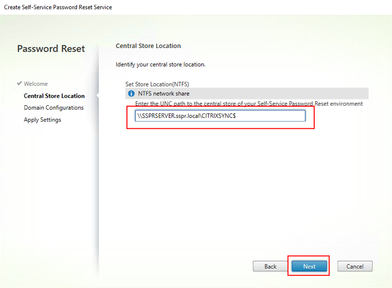 How Do I Deploy Self-Service Password Reset For the First Time