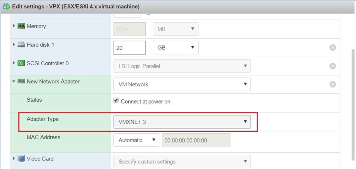 NetScaler VPX Loses Network Connectivity Intermittently on VMware